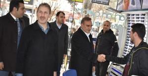 AK Parti Heyetinden Esnaf Ziyareti