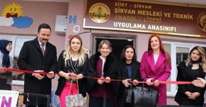 Vali Eşi Fulya Atik, Şirvan İlçemizi Ziyaret Etti