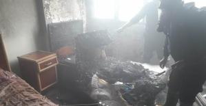 Otelde Çıkan Yangın Korkuttu