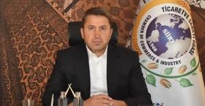 """Siirt TSO Başkanı Güven Kuzu'dan Üyelere """"İstihdam Seferberliğine Destek Verin"""" Çağrısı"""