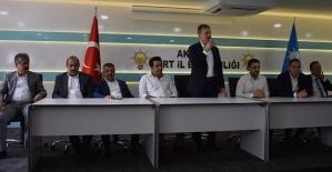 AK Parti Siirt İl Başkanlığında Bayramlaşma Programı Düzenlendi