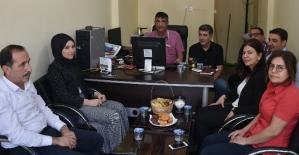Belediye Başkanı Berivan Helen Işık, Gazetemizi Ziyaret Etti