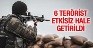 Pervari İlçesi Herekol Dağı Kırsalında 6 Terörist Etkisiz Hale Getirildi