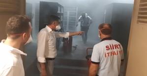 Siirt Devlet Hastanesinde Çıkan Yangın Hasara Neden Oldu