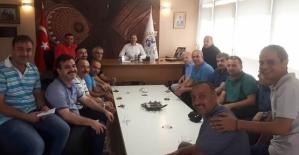 Tarım ve Orman Müdürlüğü Personeli, AK Parti İl Başkanı Çalapkulu'yu Ziyaret Etti