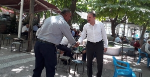 AK Parti il Başkanı Çalapkulu, Vatandaşların Sorunlarını Dinledi