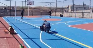 Atabağlı Gençler Tenis Oynuyor