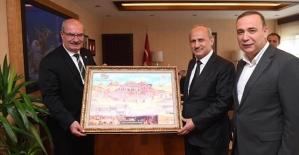 Ören ve Vali Atik, Bakan Turhan ve DSİ Genel Müdürü Aydın'ı Ziyaret Etti
