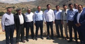 Milletvekili Ören,Şirvan ilçe ve Köylerinde İncelemelerde Bulundu