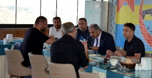 """İÖİ Spor Kulübü Başkanı Canpolat, """"Yönetim İle Tam Kadro Cizre'de Olacağız"""""""