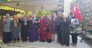 Siirtli Kadınlardan Barış Pınarı Harekatına Destek