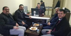 AK Parti İl Başkanı Av.Ekrem Olgaç, Büromuzu Ziyaret Etti