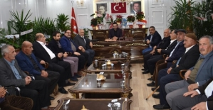 AK Parti Siirt İl Başkanı Av.Ekrem Olgaç'a Ziyaretçi Akını