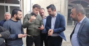 AK Parti İl Başkanı Olğaç, Başkan Akgün TOKİ Heyetiyle Bir Araya Geldi