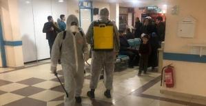Özel Siirt Hayat Hastanesi Dezenfekte Edildi