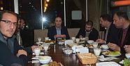 AK Parti Siirt Milletvekili Osman Ören Veda Yemeği Verdi