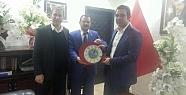 Babaoğlu, AK Parti İl Başkanı Çalapkulu'yu Ziyaret Etti