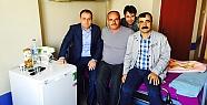 Pervari Belediye Başkanı Tayyar Özcan, Hasta Ziyaretlerinde