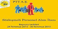 PTT Personel Alımı