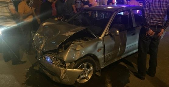 Trafik Kazası 8 Yaralı