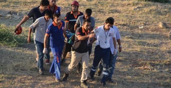 Uçuruma Yuvarlanan Çocuk Yaralandı