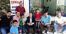 AK Parti Milletvekili Adayı Osman Ören'e Yoğun İlgi