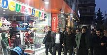 AK Parti Heyeti Esnaf Ziyaretlerinde