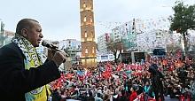 """Başkan Erdoğan, """"Ülkeyi Bölme Gayretlerine Benim Milletim Müsaade Etmez"""""""