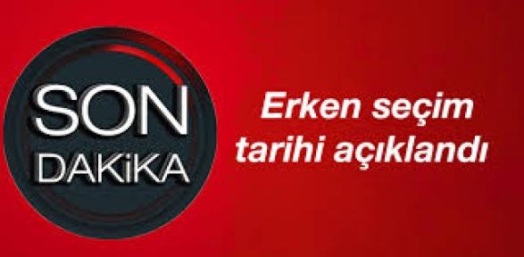 YSK Başkanı Güven: Erken seçim 1 Kasım'da