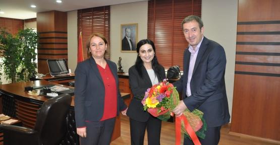 Yüksekdağ, Siirt Belediyesini Ziyaret Etti