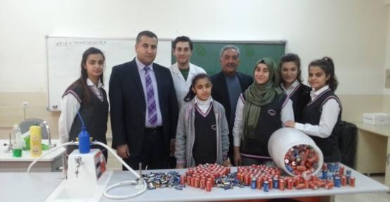 Zübeyde Hanım Lisesi'nden Atık Pil Toplama Projesi